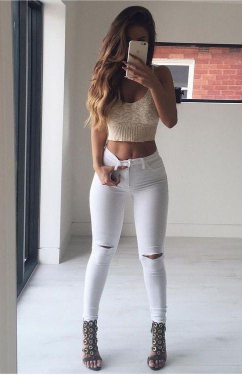 Looks com calça branca (9)