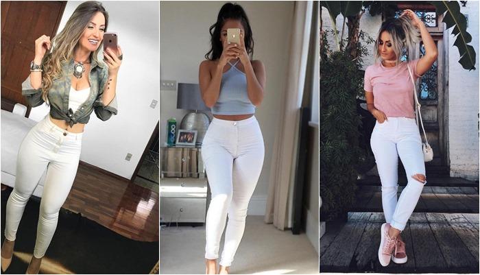 Looks com calça branca